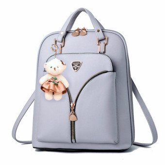 Women's Casual Travel Backpack (Gray)
