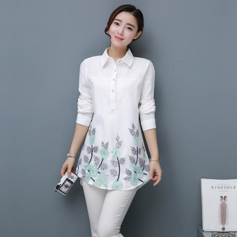 Buy Latest Embroidery Summer Length Sleeve Lace Cardigan White ...