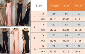 Women's Formal Long Ball Gown Party Prom Cocktail Bridesmaid Evening Maxi Dress - intl Color Black - 5