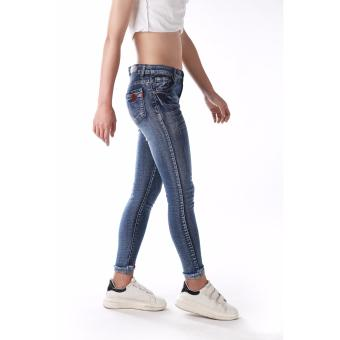 Women's Heart Design Skinny Sexy Jeans