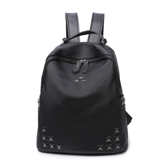 Women's Korean-style Fashion Oxford Cloth Backpack
