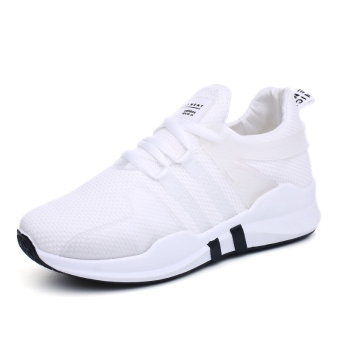 Women's Korean-style Running Shoes - Black (Female Models + White (Partial small a code, shoes mouth tight))