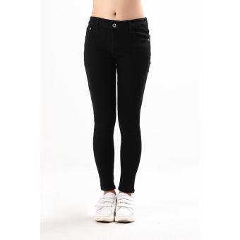 Women's Max Shape Black Skinny Jeans - 5
