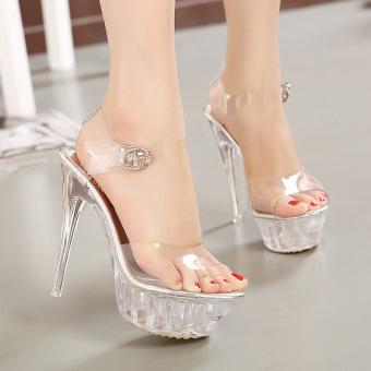 Women's Platform High Heels large size Sandals - intl - 4