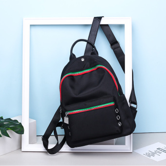 Women's Stylish Preppy Backpack (Black color)