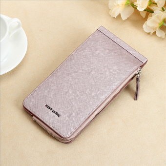 Women's ultra-thin card holder (Light purple color)