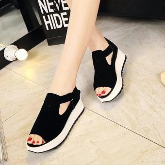 Women's wild flat Sandals Fashion casual braethable ladies shoes - intl