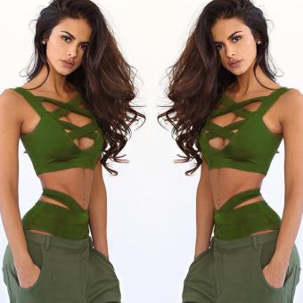 WomenBagndage Bikmini set Ary green - 3