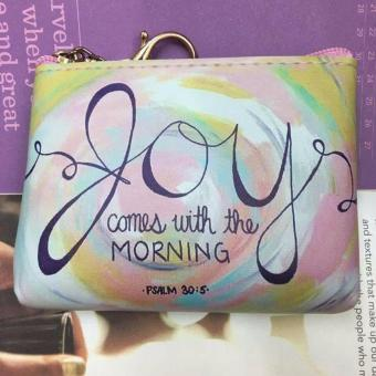 Women's Bible Verse Coin Purse (PSALM 30:5)