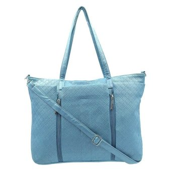 Women's Classy Weekender Bag (Blue) - picture 2