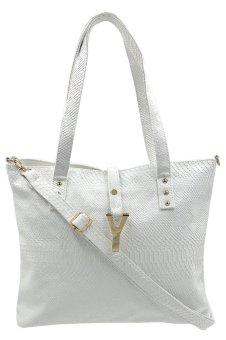 Women's Classy Weekender Bag (white)