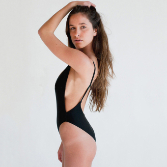 Womens Swimsuit Swimwear One-Piece Split Side exposed Flirty Halter Swimsuits Price Philippines