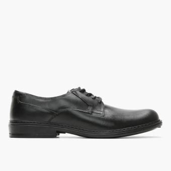World Balance Easy Soft Mens British Oxfords (Black)