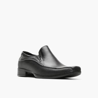 World Balance Easy Soft Mens Gustav Dress Loafers (Black) - 2