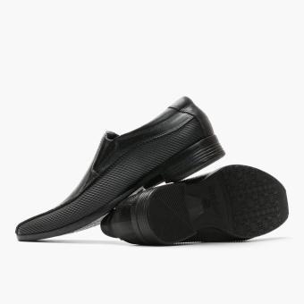 World Balance Easy Soft Mens Gustav Dress Loafers (Black) - 3