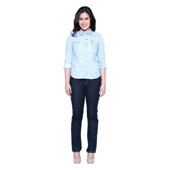Wrangler Ladies Tina Jeans (Electric Indigo) - 5