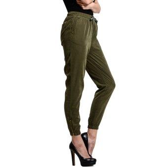 Wrangler Ladies' Jogger Pants (Green) - 2