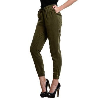 Wrangler Ladies' Jogger Pants (Green) - 3