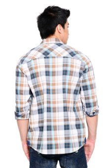 Wrangler Men's Casual Long Shirt (Brown) - picture 2