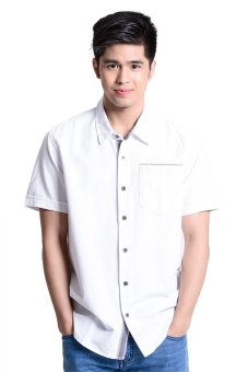 Wrangler Polo Shirt (White)