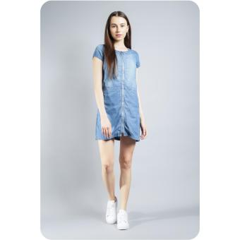 Wrangler Women's Denim Dress (Indigo)