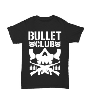 WRESTLING T SHIRT BULLET CLUB BIG BLACK