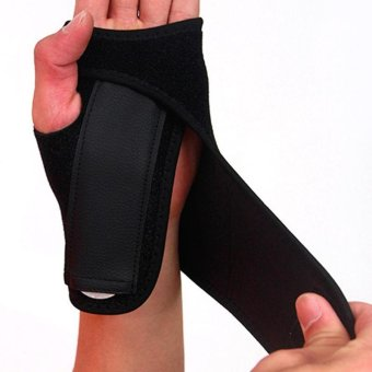Wrist Support Hand Brace Band Carpal Tunnel Splint Arthritis Sprains Useful - intl