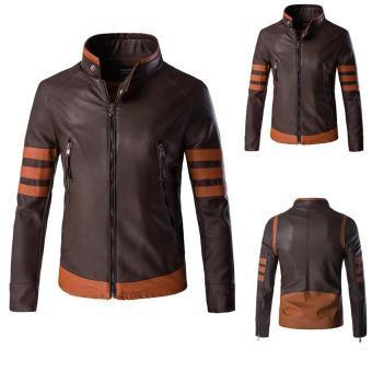 X Men Origins Wolverine jacket leather jacket - intl