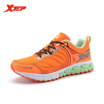 XTEP 2016 Breathable Running Shoes for Women Light Weight Mesh Trainers Shoes Athletic Shoes Women's Sport Sneakers (Orange) - intl