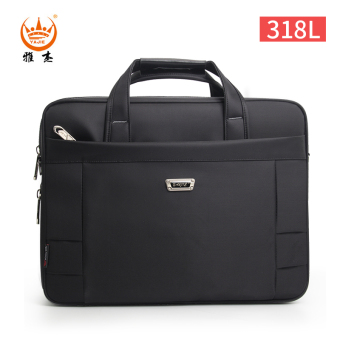 Ya Jie cross-body large capacity Portable Package computer bag (Large (can be put 15.6-inch notebook computer))