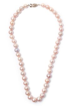 Yassy Pearls FWP PINK9 Necklace (Pink)
