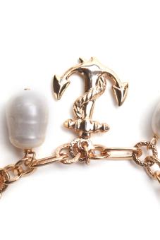 Yassy Pearls FWPCHAIN11 Bracelet (Yellow/White)