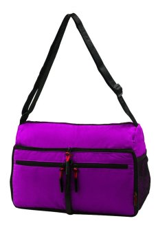 YINJUE 1012 Foldable Womens Body Bag (Purple)