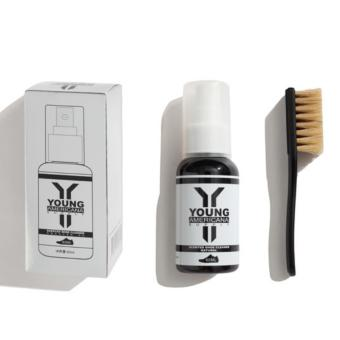 Young Americana Supply Natural Scented Shoe Cleaner 60ml with Brush