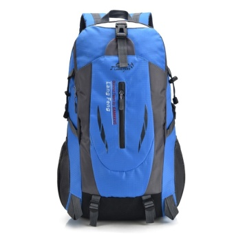 YSLMY Snow bai li outdoor mountaineering backpack large capacity casual travel bag sports bag shoulder bag men and women travel bag hiking (Blue) - intl