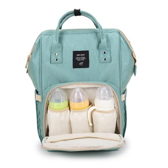 YX Children Baby Changing Diaper Bag Mummy Maternity Nappy Bag Large Capacity Baby Bag Travel Backpack Desiger Nursing Bag(Green) - intl