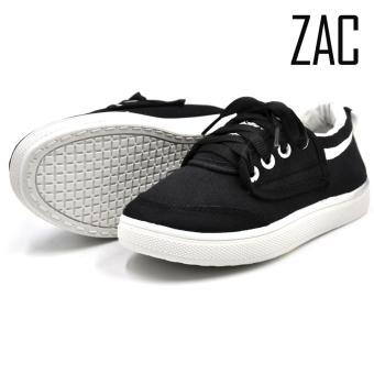 ZAC | AA-MO7 Kagami Unisex Fashion Sneakers Kids Shoes (Black)