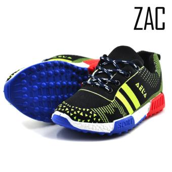ZAC | Aela Unisex Fashion Sneakers Kids Shoes (Green/Black)
