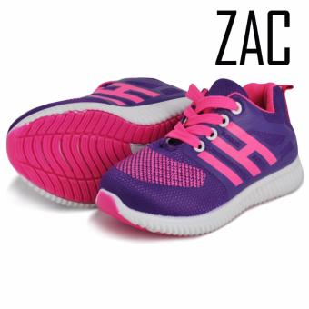 Zac Fashion Sneakers Lace up Shoes for Girls H-STYLE (Violet)