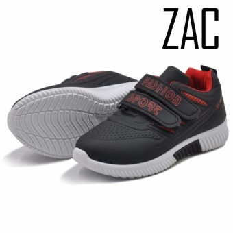 Zac Fashion Sneakers Slip on Shoes for Boys 333 (black)