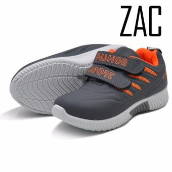 Zac Fashion Sneakers Slip on Shoes for Boys 333 (grey)