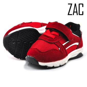 ZAC | Mami Red Unisex LED Fashion Sneakers Kids Shoes (Red/White)