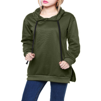 ZANZEA Womens Cotton Loose Pullover Hoodies Price Philippines