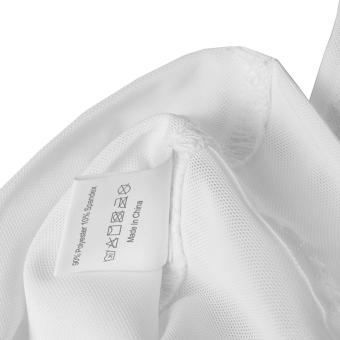 ZEROBODYS Men's Body Slimming Tummy Shaper Vest Belly UnderwearShapewear Girdle Shirt New SS-M09 White - 4