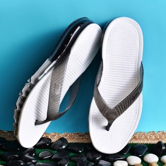 ZNPNXN Lovers Shoes Summer Men'S Shoes Air Cushion Slippers FashionComfort Sandals Air Cushion Slippers (Black) - intl - 2