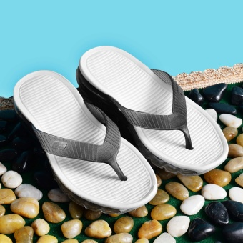 ZNPNXN Lovers Shoes Summer Men'S Shoes Air Cushion Slippers FashionComfort Sandals Air Cushion Slippers (Black) - intl - 3