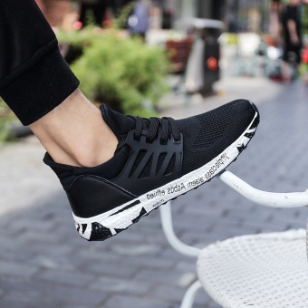 ZNPNXN Men'S Shoes Fashion Outdoor Sports Shoes The Summer Sports Shoes Shoes Lightweight Running Shoes Mens Shoes Luxury Size 39-44 Yards (Black) - intl - 5