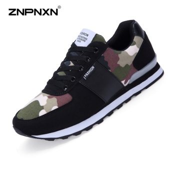 ZNPNXN Men'S Shoes Fashion Casual Sport Shoes Tide ShoesComfortable Ventilated Running Shoes Men'S Outdoor Sports Shoes(Multicolor) - intl