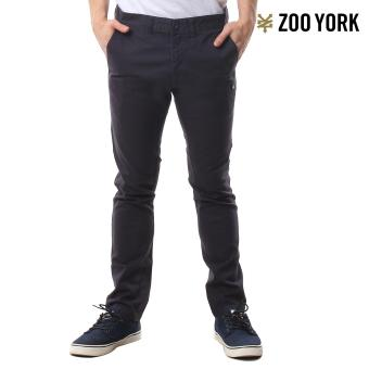 Zoo York Men's Chaz Colored Skinny Pants WOLF GREY
