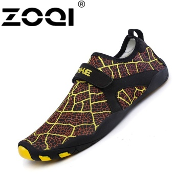 ZOQI Fashion Surfing Shoes Outdoor Swimming Water SportShoes(yellow) - intl
